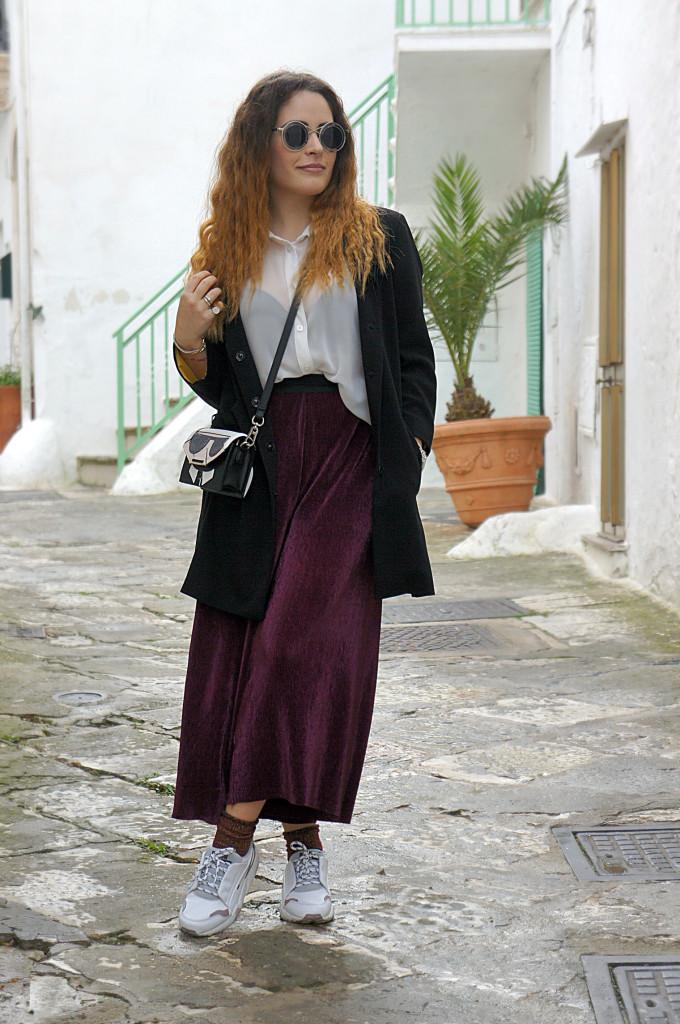 pantaloni ciniglia