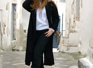 Il cappotto lungo nero: il capo che non può e non deve mancare!