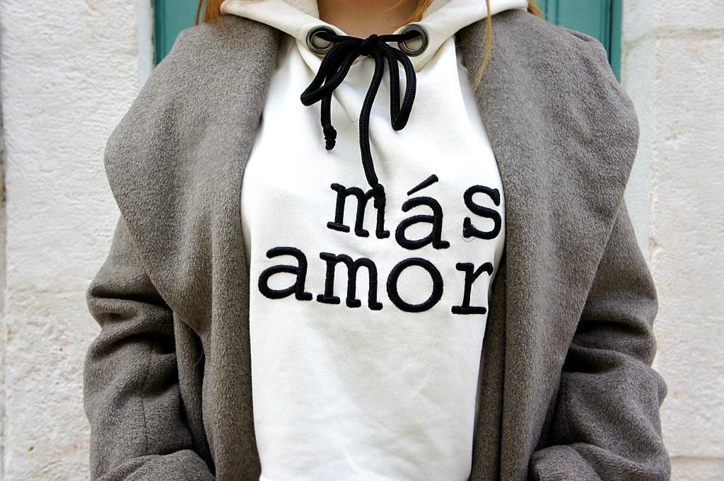 felpa mas amor