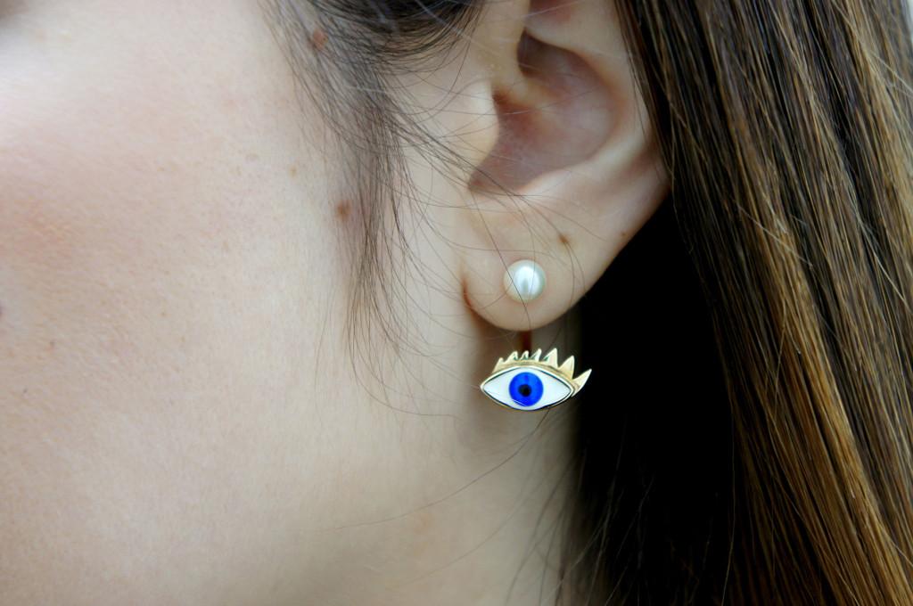 orecchino delfina delettrez
