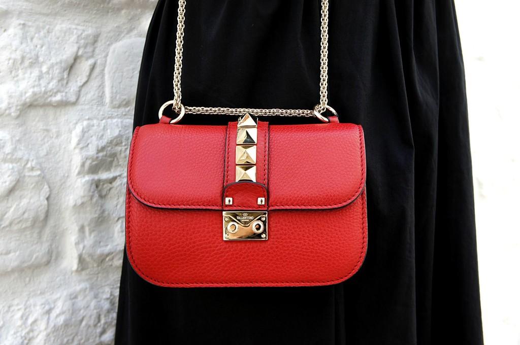 borsa valentino rossa