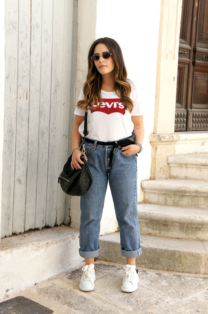 jeans levis a vita alta