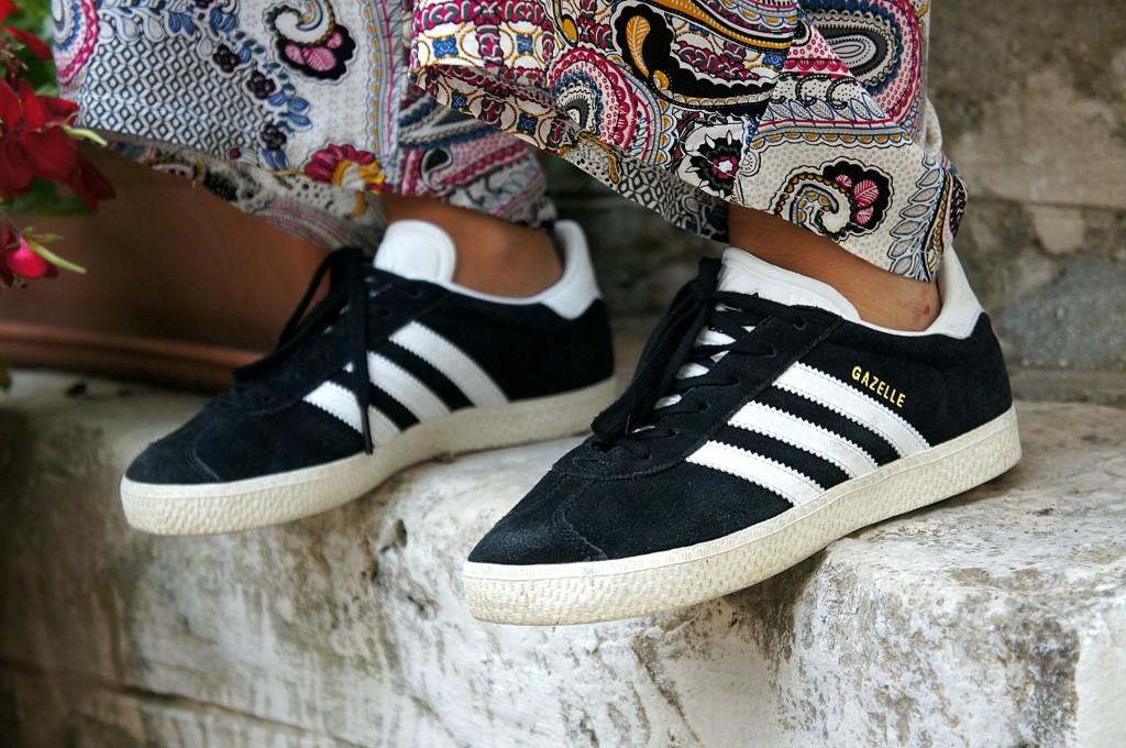 look Adidas Gazelle