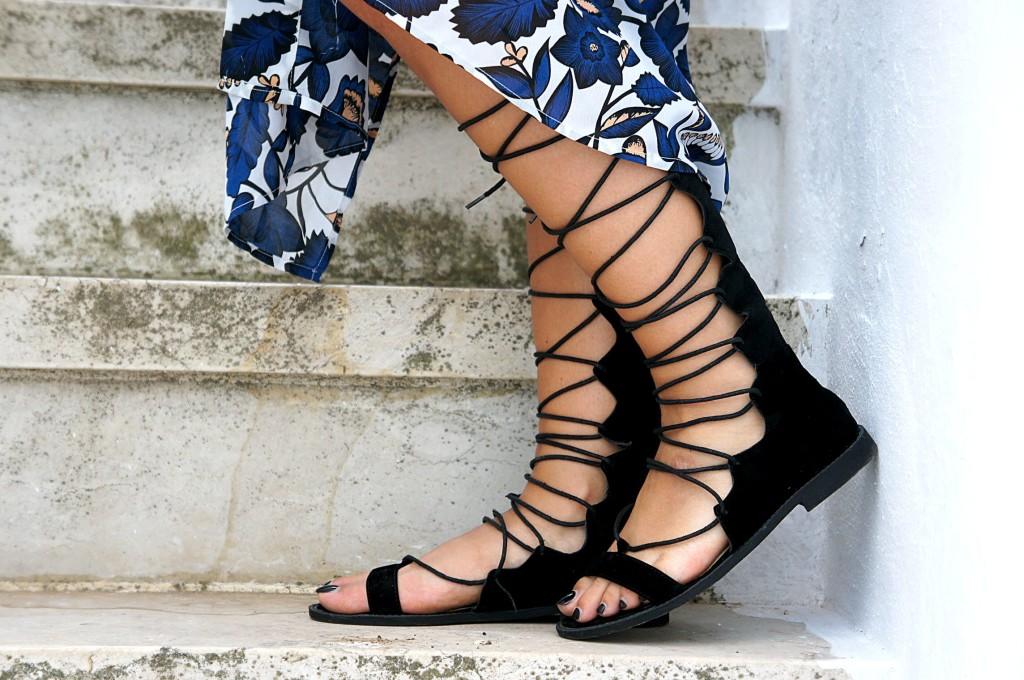 sandali alla schiava street style