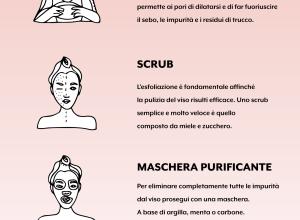 Pulizia del viso: come farla a casa in 6 passaggi!